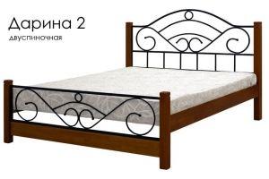 Деревянная кровать Дарина 2 - Мебельная фабрика «Массив»