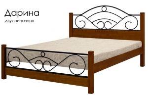 Деревянная кровать Дарина - Мебельная фабрика «Массив»