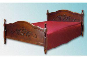 Деревянная кровать Лама - Мебельная фабрика «Мебель Мос»
