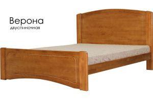 Деревянная кровать Верона - Мебельная фабрика «Массив»