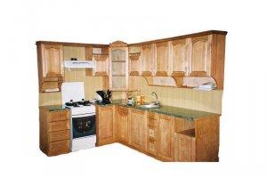 Деревянный кухонный гарнитур угловой - Мебельная фабрика «ШиковМебель»