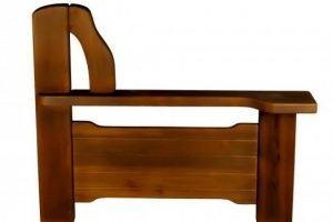 Деревянный подлокотник №11 - Оптовый поставщик комплектующих «Лаама»