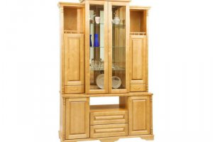 Деревянный шкаф-буфет - Мебельная фабрика «ШиковМебель»
