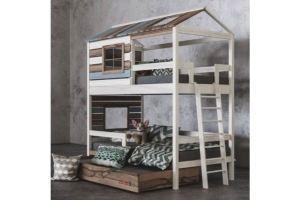 Детская 2х ярусная кровать Твин Колор - Мебельная фабрика «Mamka»