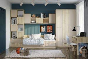 Детская мебель Акварель - Мебельная фабрика «Сильва»