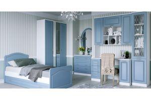 Детская Ария нежно голубого цвета - Мебельная фабрика «Кентавр 2000»