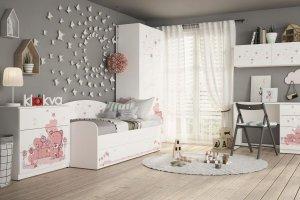 Детская Baby Мишка Girl - Мебельная фабрика «Клюква»