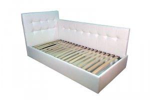 Детская белая кровать со спинкой - Мебельная фабрика «РД-мебель»