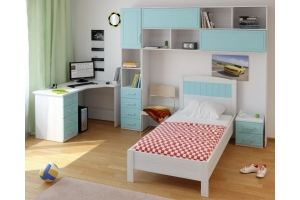 Детская бирюзовая Teens home - Мебельная фабрика «Крафт»