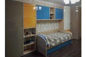 Детская цветная n181220-01 - Мебельная фабрика «Астрон»