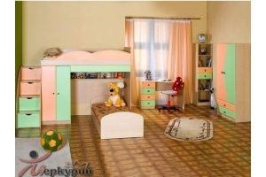Детская цветная Стелс - Мебельная фабрика «Меркурий»