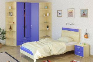 Детская цветная Teens home - Мебельная фабрика «Крафт»