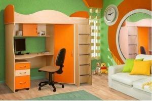 Детская кровать-чердак Дарина - Мебельная фабрика «КамиАл»