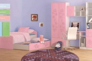 Детская для девочек - Мебельная фабрика «Юнона»
