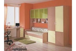 Детская для девочки Анжела 2 - Мебельная фабрика «Меркурий»