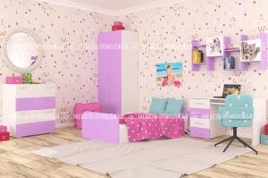 Детская для девочки Пинк - Мебельная фабрика «Мебель Поволжья»