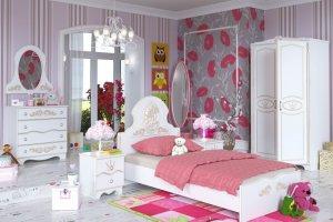 Детская для девочки Принцесса - Мебельная фабрика «Счастливое Детство»