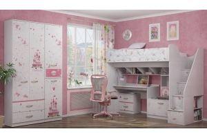 Детская для девочки Принцесса 3 - Мебельная фабрика «Ижмебель»