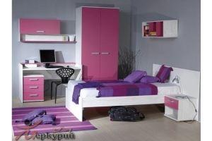 Детская для девочки Рапунцель - Мебельная фабрика «Меркурий»