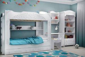 Детская для двоих Ника - Мебельная фабрика «Люкс-С»