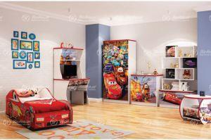 Детская для мальчика Тачки - Мебельная фабрика «Натали»