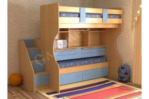 Детская Дуэт 4 - Мебельная фабрика «СлавМебель»