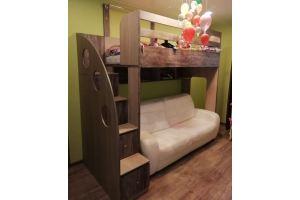 Детская двухъярусная 20 5 - Мебельная фабрика «Святогор Мебель»