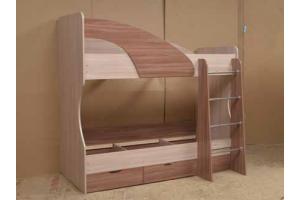 Детская Двухъярусная кровать   - Мебельная фабрика «Актив-М» г. Волжск