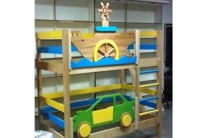 Детская двухъярусная кровать - Мебельная фабрика «Лисер»