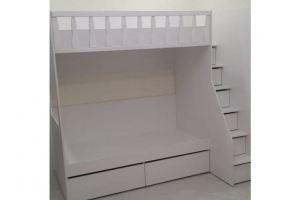Детская двухъярусная кровать - Мебельная фабрика «МакаровЪ»