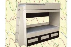 Детская двухъярусная кровать 39 - Мебельная фабрика «Алекс-мебель»
