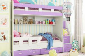 Детская двухъярусная кровать Астерикс - Мебельная фабрика «Натали»
