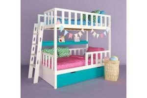 Детская двухъярусная кровать Аврора - Мебельная фабрика «RuLes»
