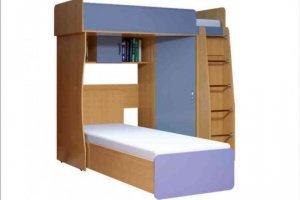 Детская Двухъярусная кровать  Кент - Мебельная фабрика «VLAST»