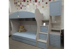 Детская двухъярусная кровать Лондон - Мебельная фабрика «Комодофф»