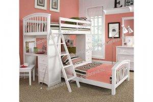 Детская двухъярусная кровать Николь - Мебельная фабрика «Дубрава»