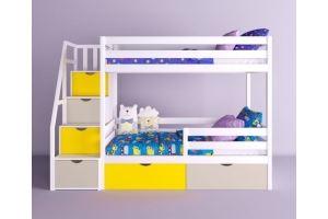 Детская двухъярусная кровать Симба - Мебельная фабрика «RuLes»