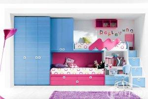Детская двухъярусная кровать тип 2 - Мебельная фабрика «Ретран»