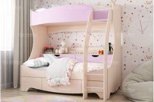 Детская двухъярусная кровать Виола - Мебельная фабрика «Натали»
