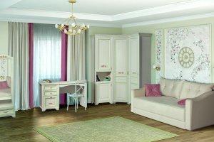 Детская Флора 3 - Мебельная фабрика «Яна»