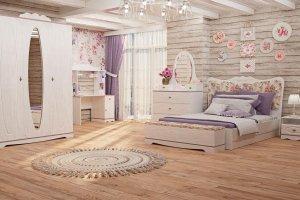 Детская Флоранс в стиле Прованс - Мебельная фабрика «АСМ-модуль»