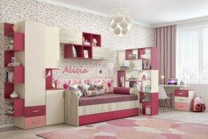 Детская Дарина 48 - Мебельная фабрика «Уют сервис»