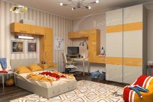 Детская Геликон со шкафом-купе - Мебельная фабрика «Ладос-мебель»