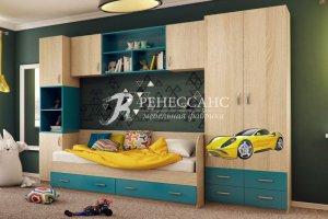 детская Гонщик для мальчика - Мебельная фабрика «Ренессанс»