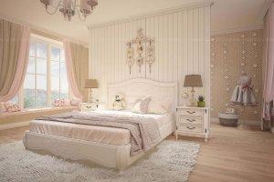 Детская из массива Белая - Мебельная фабрика «Ravanti»