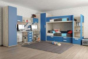 Детская Junior Королевский синий - Мебельная фабрика «Клюква»