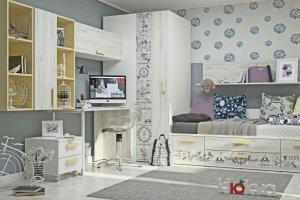 Детская Junior Print Provence - Мебельная фабрика «Клюква»