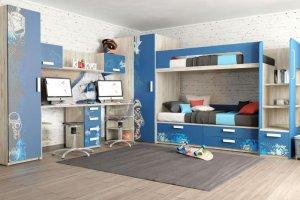 Детская Junior Print Urban - Мебельная фабрика «Клюква»