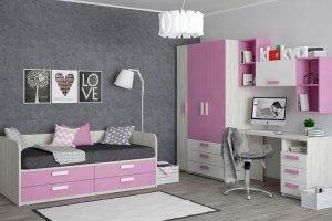 Детская Junior Роза - Мебельная фабрика «Клюква»