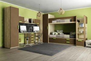Детская Junior Шоколад - Мебельная фабрика «Клюква»